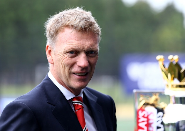 As close as Moyes will get to the Premier League trophy? (Getty)