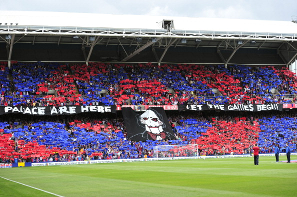 Crystal Palace Fans Announce Their Premier League Arrival