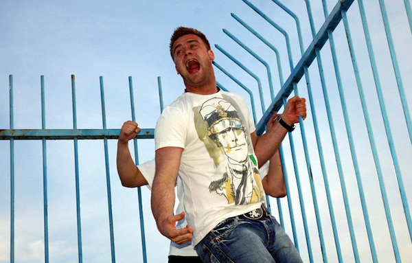 Artur Boruc calmly projects his ideas.