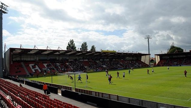 Bournemouth's Goldsands Stadium. (Eurosport)