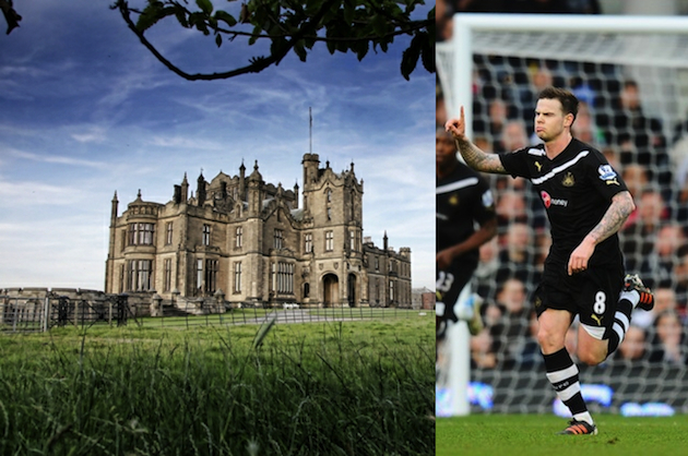 Allerton Castle and Danny Guthrie are no longer friends. (dine-services.com/Getty)