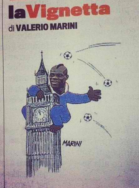 La Gazzetta dello Sport's Sunday cartoon. (via @SonoTuttoBene)