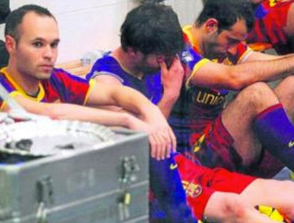 Leo Messi after the 2011 Copa del Rey final. (Miguel Ruiz/Barcelona)
