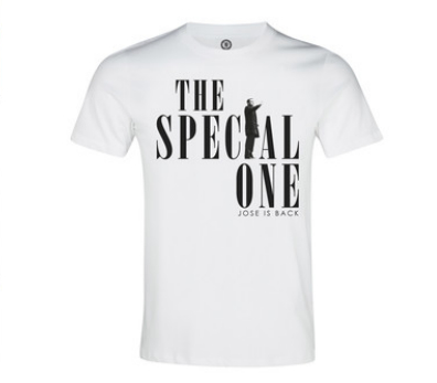 Chelsea mark return of Jose Mourinho with 'Special One' merchandise