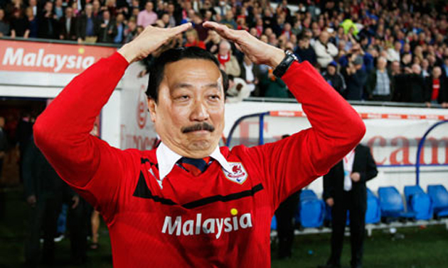 Cardiff owner Vincent Tan tries to remember The Macarena (guardian.co.uk)