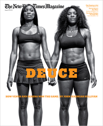 Here's a shocker: Venus and Serena Williams are in really good shape. — New York Times