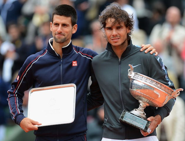 Novak Djokovic, Rafael Nadal — Getty Images