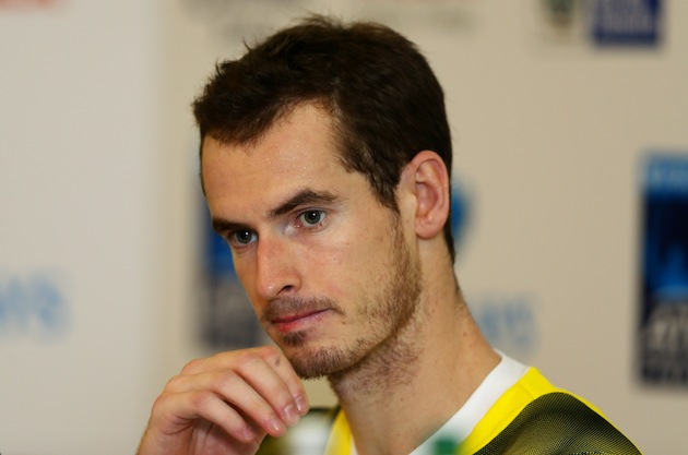 Andy Murray -- Getty Images