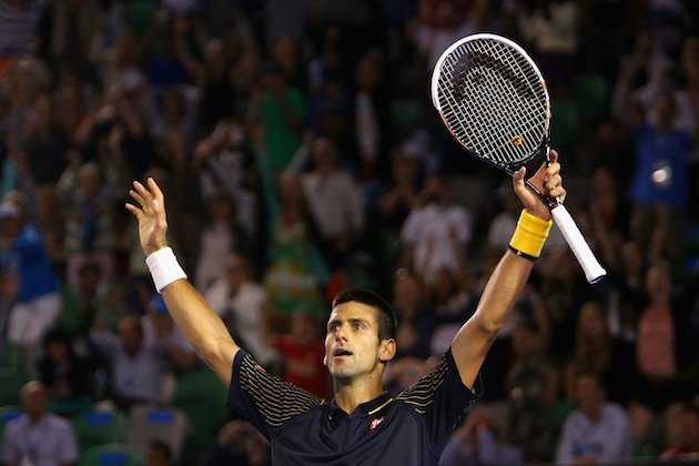 Novak Djokovic — Getty Images