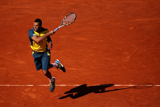 Jo-Wilfried Tsonga — Getty Images