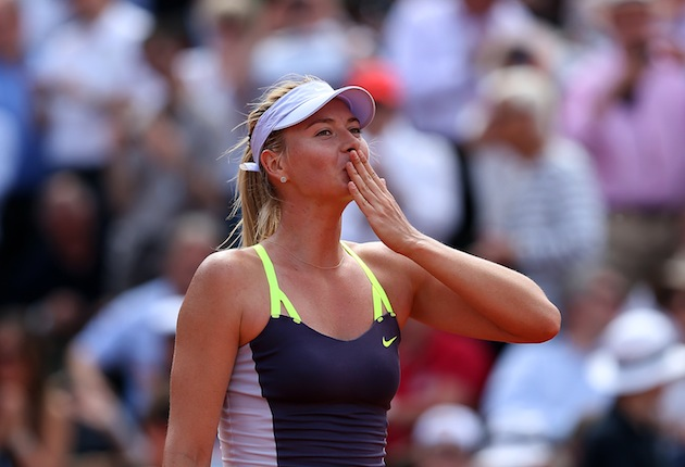 Maria Sharapova — Getty Images