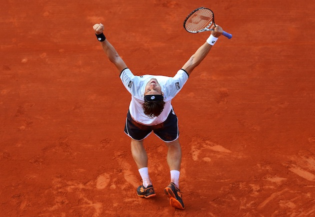 David Ferrer — Getty Images