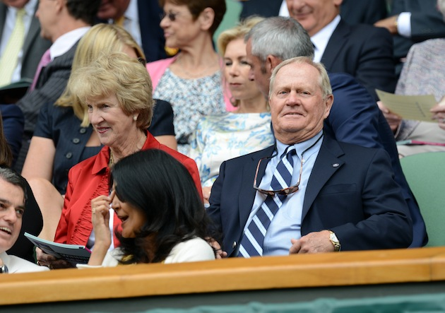 Barbara and Jack Nicklaus — Getty Images
