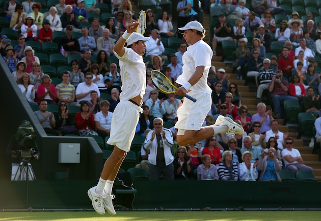 Bob and Mike Bryan — Getty Images