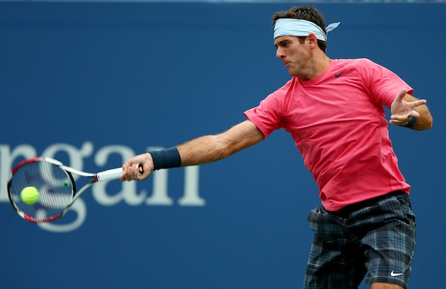 Juan Martin Del Potro — Getty Images