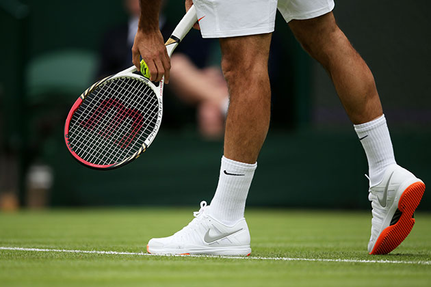 The offending soles. (Getty Images)