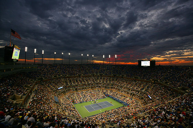 Arthur Ashe Stadium. (Getty Images)