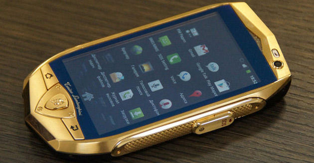 Money can buy you gold-plated phones, but it can't buy you class