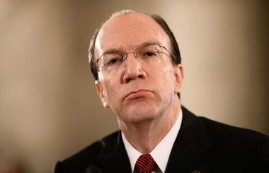 Stuart Bowen, special inspector general for Iraq reconstruction, testifies in 2009. (J. Scott Applewhite, AP)