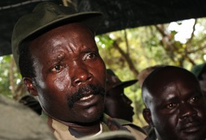 Joseph Kony, commander of the Lords' Resistance Army in 2006. (Stuart Price/AFP/Getty Images)