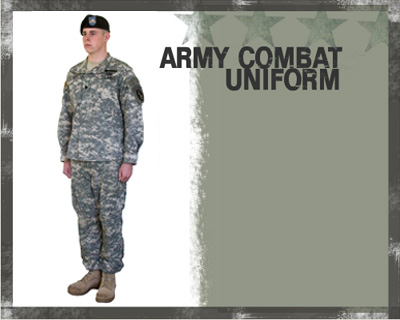 Uniform Policy, U.S. Army.