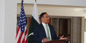 Pakistan's envoy to Washington Husain Haqqani resigned Tuesday. (File Photo)