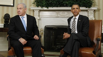 President Obama met with Israeli Prime Minister Netanyahu in May 2011. (Charles Dharapak/AP)