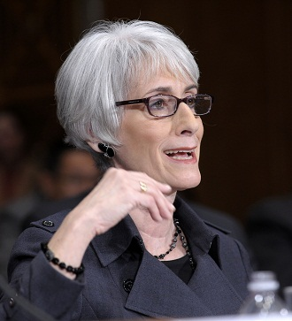Under Sec. of State Wendy Sherman testified on Iran policy to Senate foreign relations panel Dec. 1, 2011. (Susan Walsh/AP)