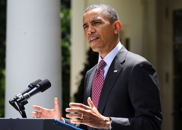 President Obama announces the deferred action program June 15. (Alex Wong/Getty Images)