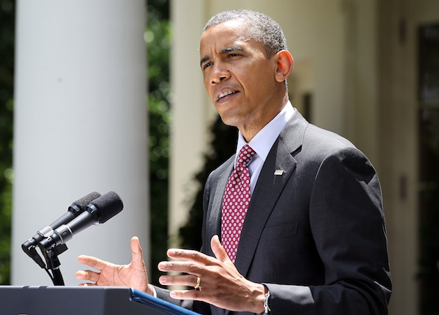 Obama announces his deferred action plan on June 15. (Alex Wong/Getty Images)