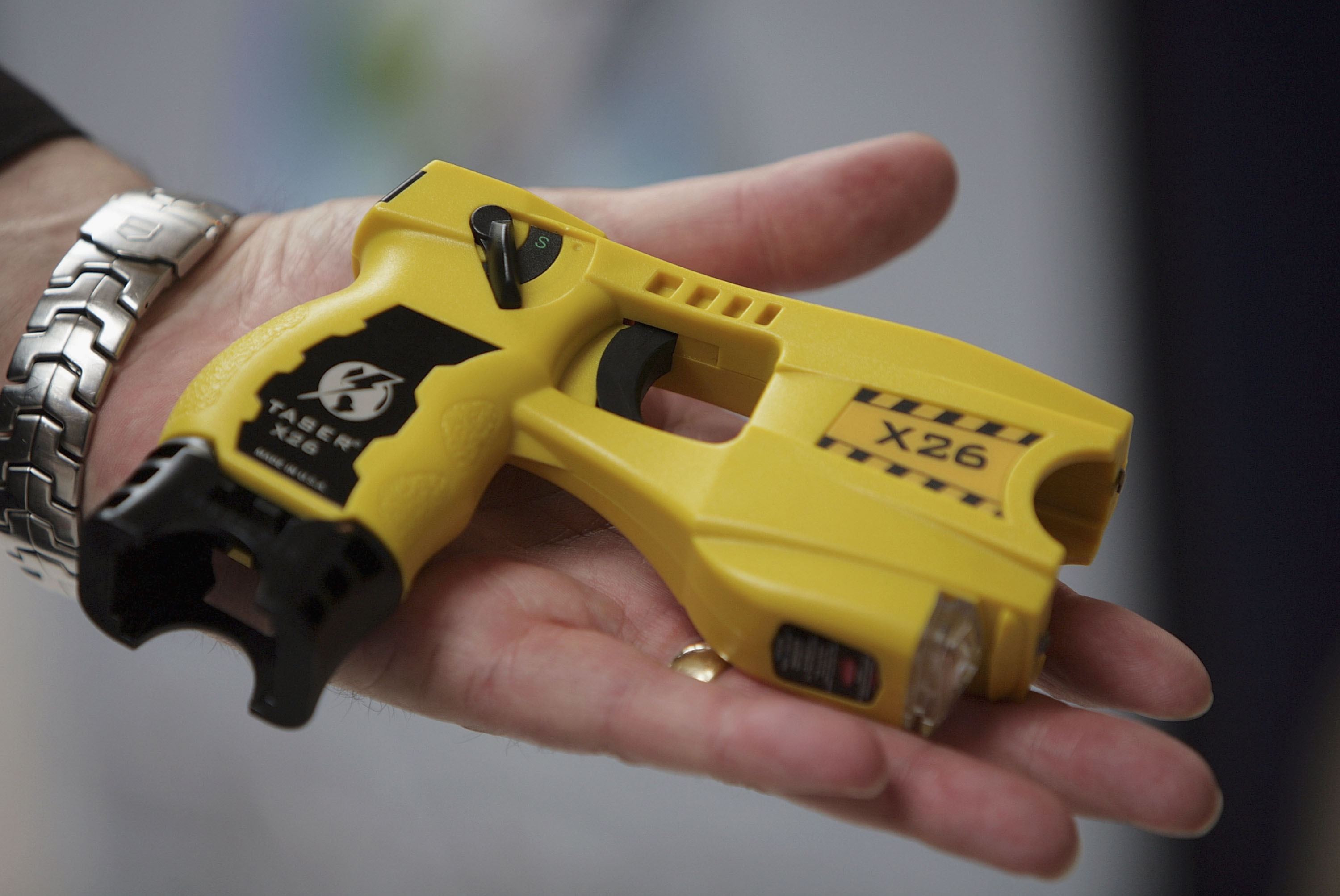 A Taser used by many police departments (Getty)