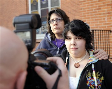 Lenora Hummel was fined thousands of dollars for her daughter's truancy (AP)
