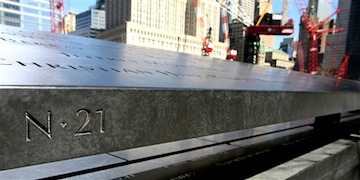 Part of the Sept. 11 memorial (AP)