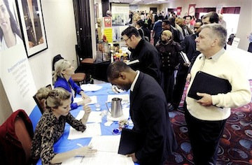 Job fair in Minneapolis (AP)