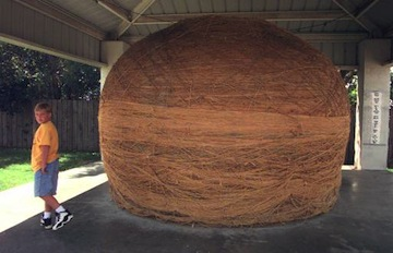 Cawker City, Kansas's massive ball of twine (AP)