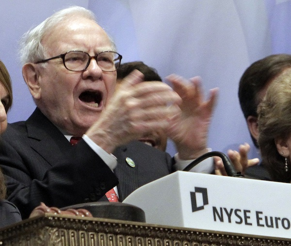 Warren Buffett. AP Photo/Richard Drew