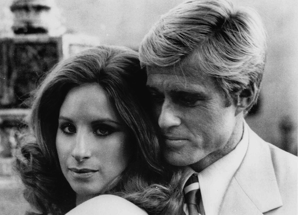 "Barbra Streisand and Robert Redford appear in ""The Way We Were.""  AP Photo"