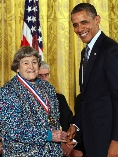 Brill receives the National Medal of Technology and Innovation from President Obama in 2011. (Getty)