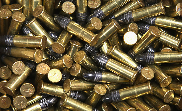 File photo of .22-caliber bullets (Scott Olson/Getty)
