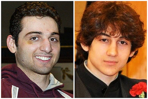 Tamerlan Tsarnaev, 26, left, and Dzhokhar Tsarnaev, 19. (AP/The Lowell Sun & Robin Young, File)