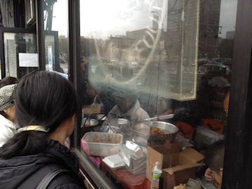 The Happy Wok on the Lower East Side served Chinese food despite no electricity. (Goodwin/Yahoo News)