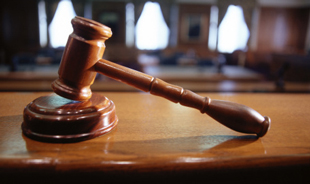 Courtroom gavel (Thinkstock)