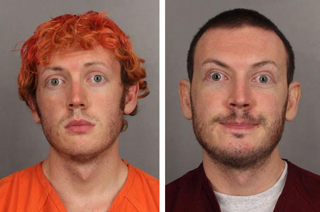 James Holmes in jail photos from July and September (Arapahoe Co. Sheriff's Office)