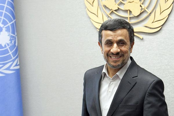 President of Iran Mahmoud Ahmadinejad (Getty)