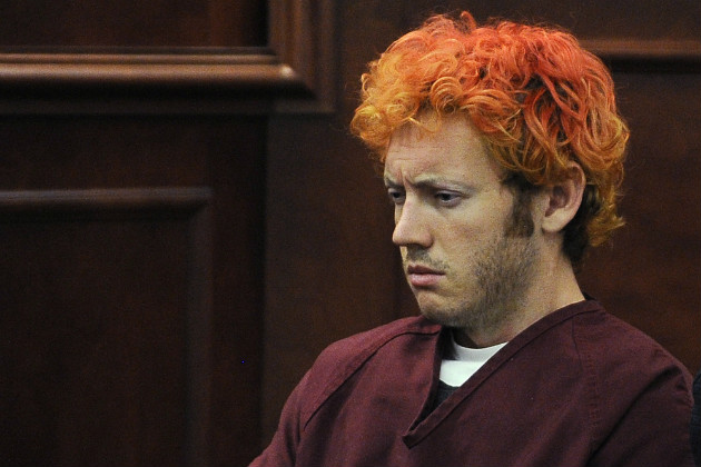 James Holmes in court, July 23, 2012. (Pool/AP)