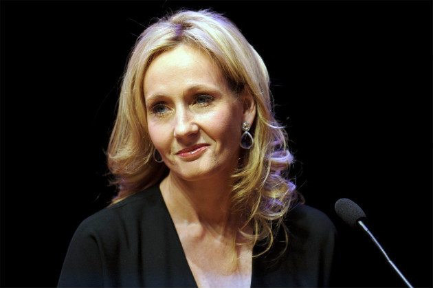 Rowling in London, Sept. 27, 2012 (Ben Pruchnie/Getty Images)