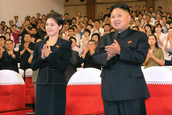 Ri and Kim in 2012 (Reuters/File)