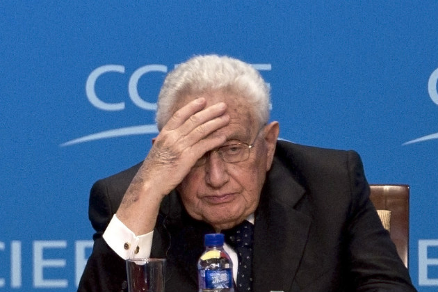 Kissinger at a summit in Beijing, June 25, 2011. (Andy Wong/AP)