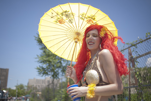A participant at Coney Island's 2012 Mermaid Parade (Lee Celano/Getty Images)