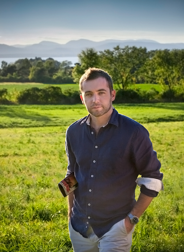 Journalist Michael Hastings in Vermont (Penguin/Rolling Stone)